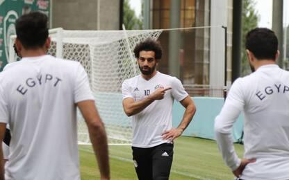 Salah è pronto, contro la Russia sarà titolare
