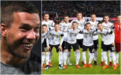 Podolski provoca o scherza? Che risate sui social