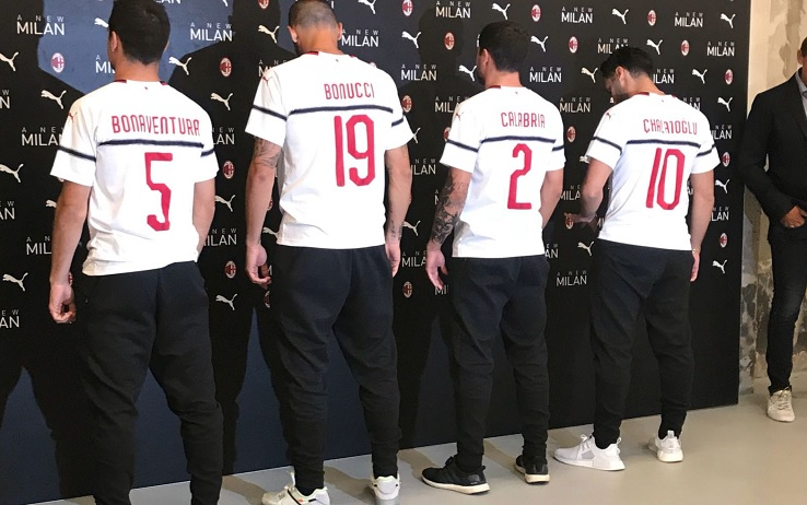 Milan: presentata la nuova maglia da trasferta, ma spunta l'errore ...