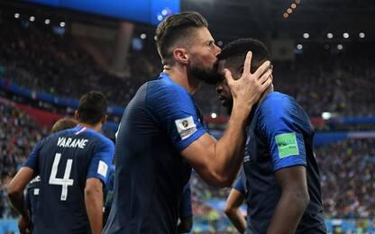 Francia prima finalista, Umtiti piega il Belgio