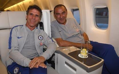 Zola torna al Chelsea, sarà il secondo di Sarri