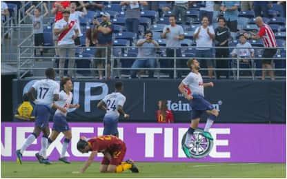 Schick non basta, la Roma crolla 4-1 col Tottenham