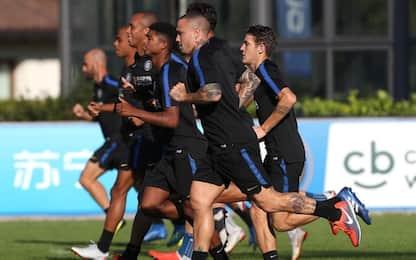Sollievo Inter, Nainggolan e D'Ambrosio in gruppo
