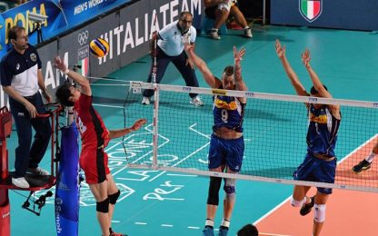 Volley, Mondiali: l'Italia batte il Giappone 3-0