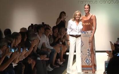 Pellegrini, la sfilata è Divina alla Fashion Week