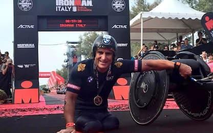 Zanardi 5° assoluto e record all'Iroman Italy