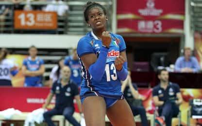 Mondiale, Italia femminile ok: 3-0 alla Bulgaria