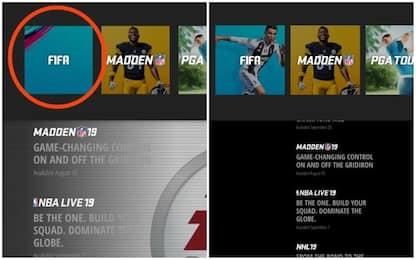 Caso Ronaldo, l'EA Sports cancella CR7 dal sito