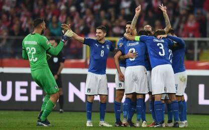 Biraghi la decide al 90', Italia batte Polonia 1-0