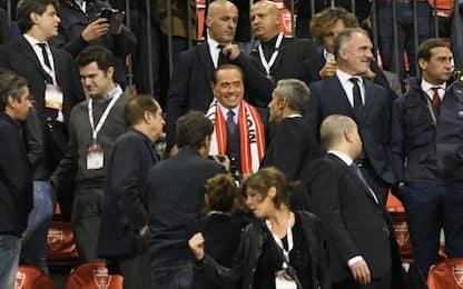 Monza, Berlusconi al Brianteo: cori e applausi
