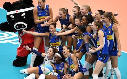 Mondiali volley: Italia batte Cina 3-2. È finale