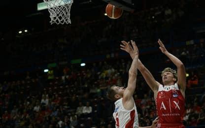 Basket: Milano travolge Pistoia. Gioia Trieste