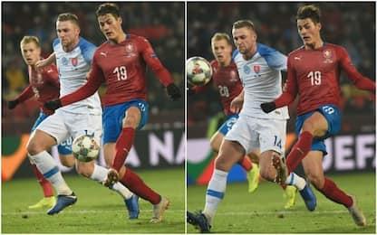 Schick-gol, Hamsik e la Slovacchia in Lega C