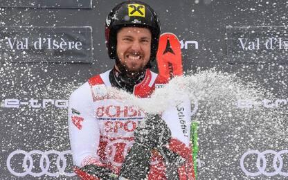 Gigante Val d'Isere: vince Hirscher, 8° Tonetti