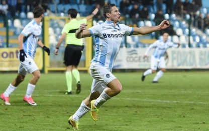 Serie C, girone B: Giana ferma Pordenone, Monza ok