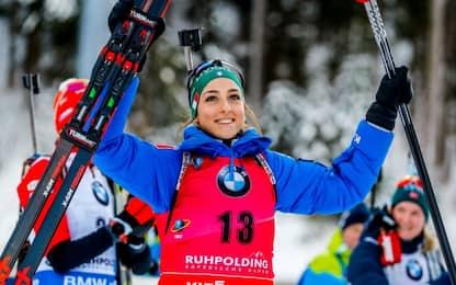 Biathlon, Vittozzi non si ferma: è 2^ a Ruhpolding