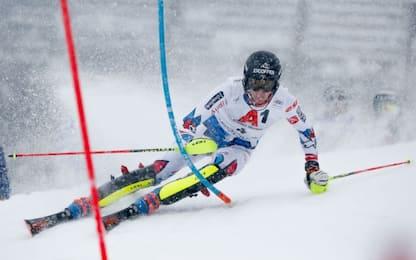Slalom Kitzbühel, Noel beffa Hirscher. 14° Razzoli