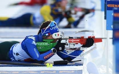 Biathlon, Wierer e Hofer conquistano l'argento