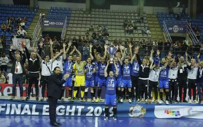 Calcio a 5, Acqua e Sapone vince Coppa Italia
