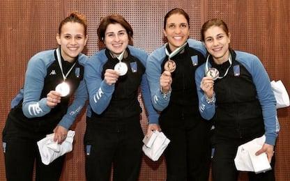 Sciabola, 3° posto per Italia femminile e maschile