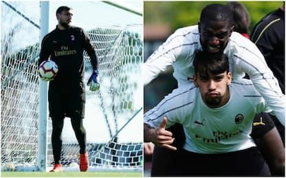 Gigio torna a Parma, Paquetá pronto per la Coppa