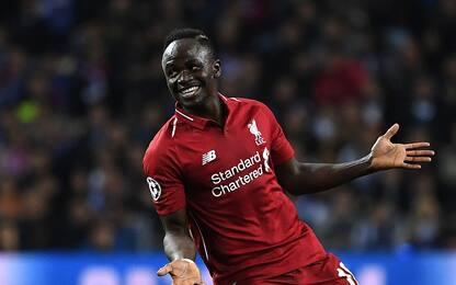 Rapporto gol-minuti: Mané in Champions batte tutti