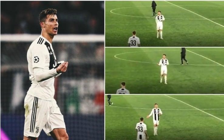 Juve, Allegri commenta il gesto post Ajax di Cristiano Ronaldo: 'È deluso  come tutti noi'   Sky Sport