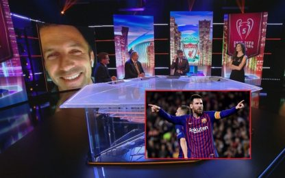 """Del Piero: """"Messi era invasato, punizione da urlo"""""""
