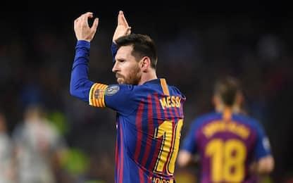 """Messi: """"Non è ancora finita. Gol? Anche fortuna"""""""