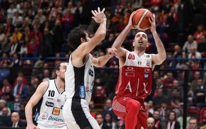 Milano passa a Trento e vince regular season