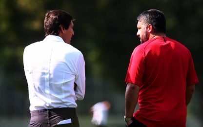 Milan, ufficiali gli addii di Gattuso e Leo