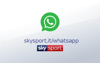 Le news di Sky Sport ora anche su WhatsApp!