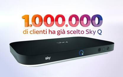 SkyQ, un milione di famiglie lo hanno scelto
