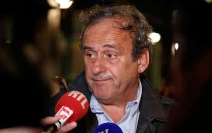 """Platini rilasciato: """"Totalmente estraneo ai fatti"""""""