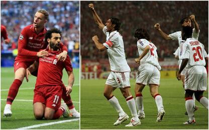 Salah-gol, 2° più veloce in finale dopo Maldini