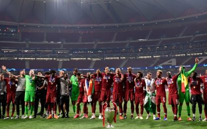 Reds in trionfo, a Madrid è festa Liverpool: FOTO