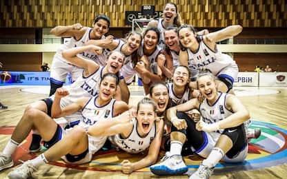 Impresa Italia, U18 donne è campione d'Europa