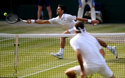 Djokovic-Federer, finale show. HIGHLIGHTS
