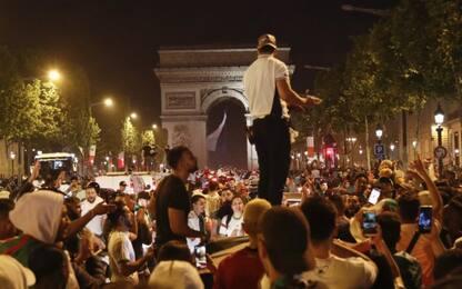 Algeria in finale, scontri e arresti in Francia