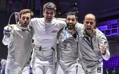 Italscherma bronzo mondiale nel fioretto maschile