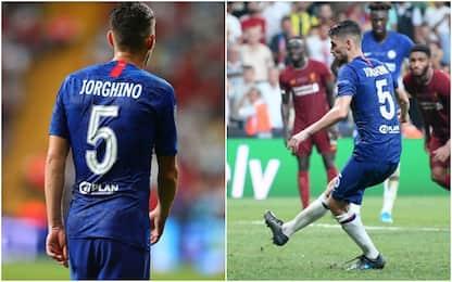 Jorginho, in Supercoppa errore sulla maglia. VIDEO