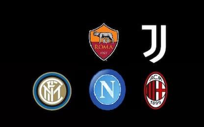 Serie A, i loghi delle squadre: storia e curiosità