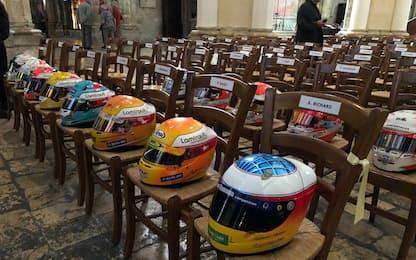 A Chartres i funerali di Hubert: presente Leclerc