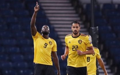 """Lukaku: """"Inter come il Belgio, siamo bel gruppo"""""""