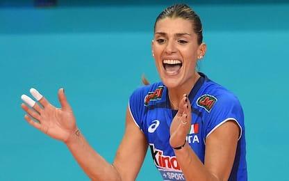"""Francesca Piccinini ha deciso: """"Addio al volley"""""""