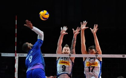 La Francia vince 3-0, Italia eliminata ai quarti