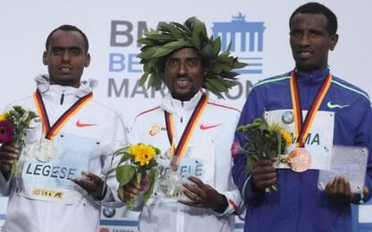 Maratona Berlino, trionfa l'etiope Bekele