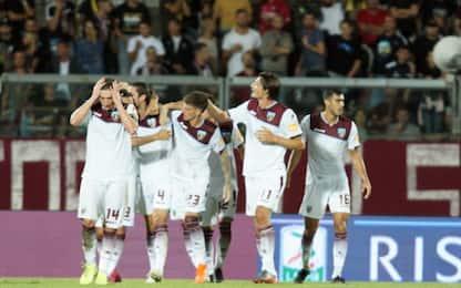Colpo Salernitana: 3-2 a Livorno, Ventura secondo