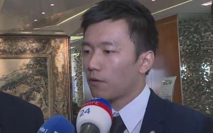"""Zhang: """"Serve pazienza, ma con Conte vinceremo"""""""