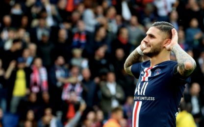 Psg, Icardi non si ferma: gol anche all'Angers